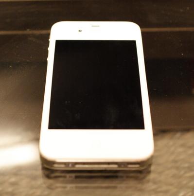 iPhone4液晶割れ修理後