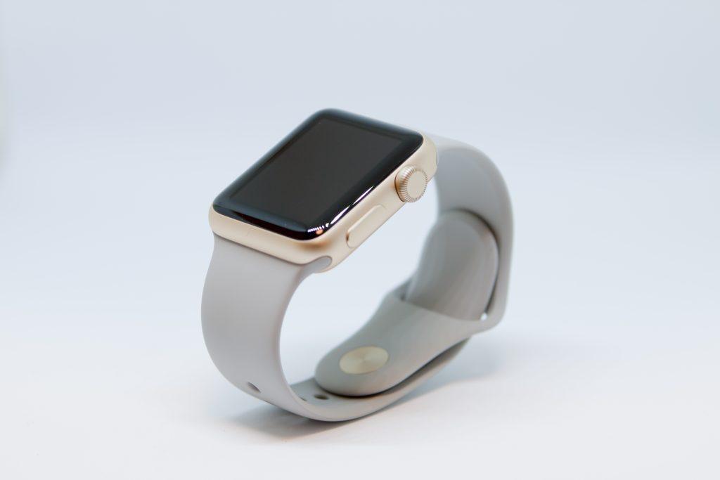 Apple Watch Series 1 - 38mmゴールドアルミニウムケースとコンクリートスポーツバンド - MNNJ2J/A