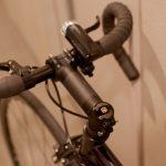 ピスト自転車のステムをカーボンに交換