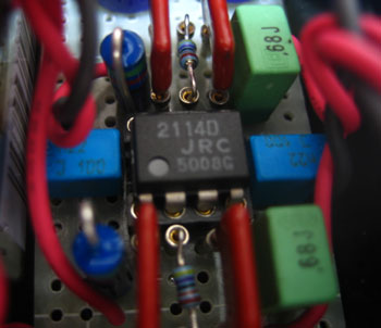 ChuMoy Amp オペアンプまわり