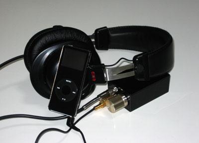 ChuMoy Amp、ATH-PRO5、iPod nano 4GB