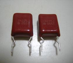 指月電機 VE10Y225J 積層メタライドフイルムコンデンサ