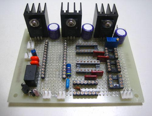 nosDAC デジタル部 製作