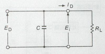 コンデンサ入力型 平滑回路