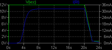 POPノイズ対策 シミュレーション結果 LTspice