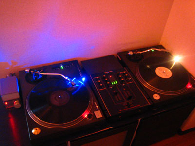 my DJ booth クラブ風