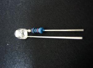 スタイラスイルミネーション用青色LED