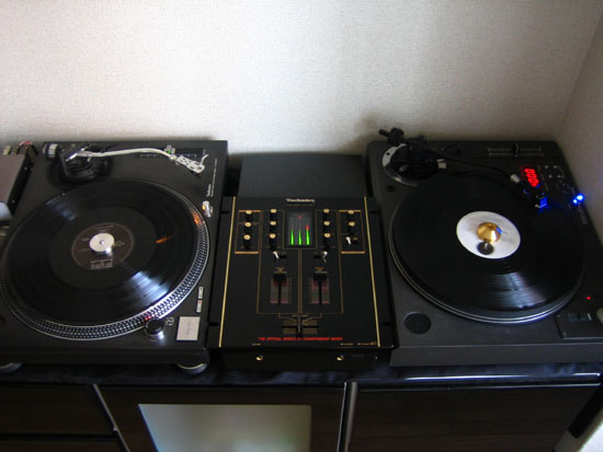my sweet DJ system