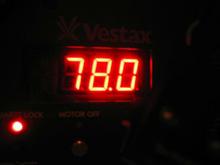 VESTAXターンテーブルPDX-D3 78rpm