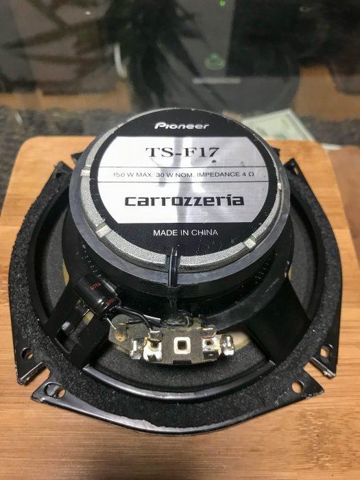 カースピーカー TS-F17