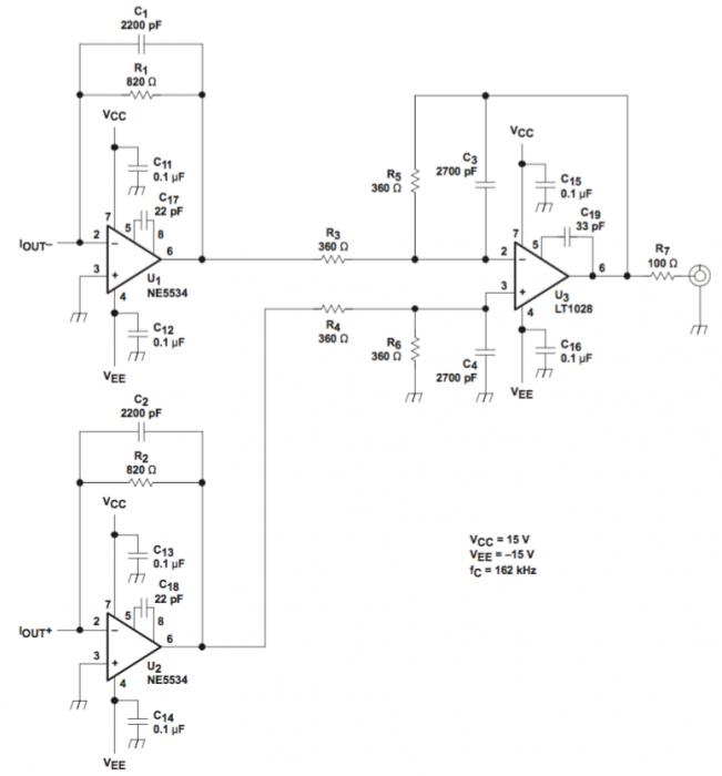 PCM1794Aアナログ回路