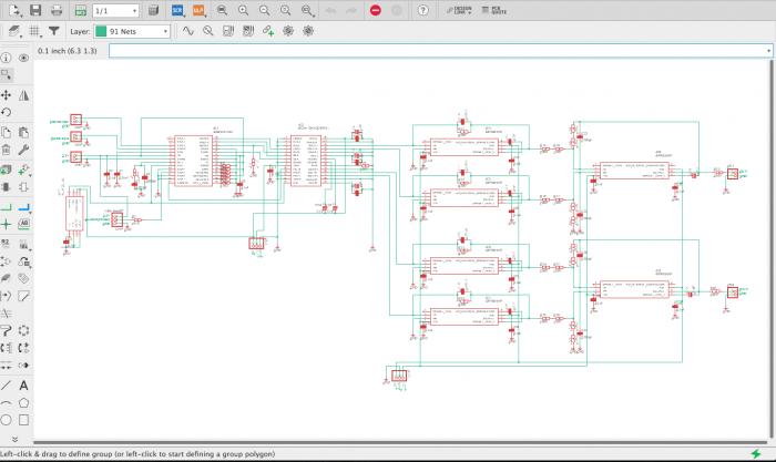 Eagleで回路設計