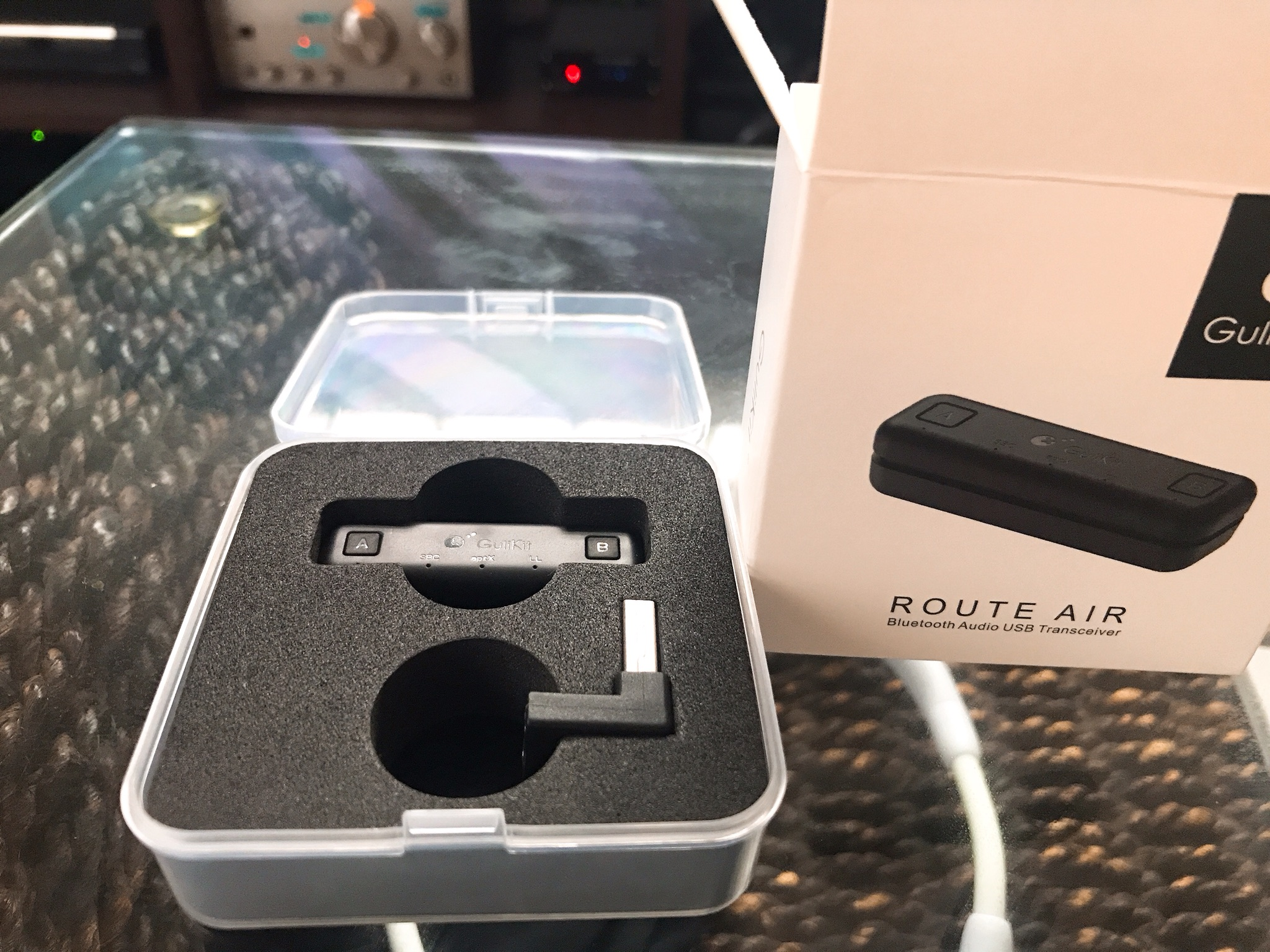 USB Bluetoothオーディオ