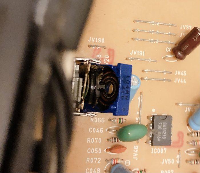 バランスVRの修理