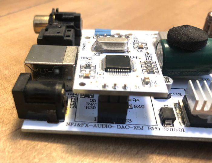 DAC-X5Jの基盤を流用