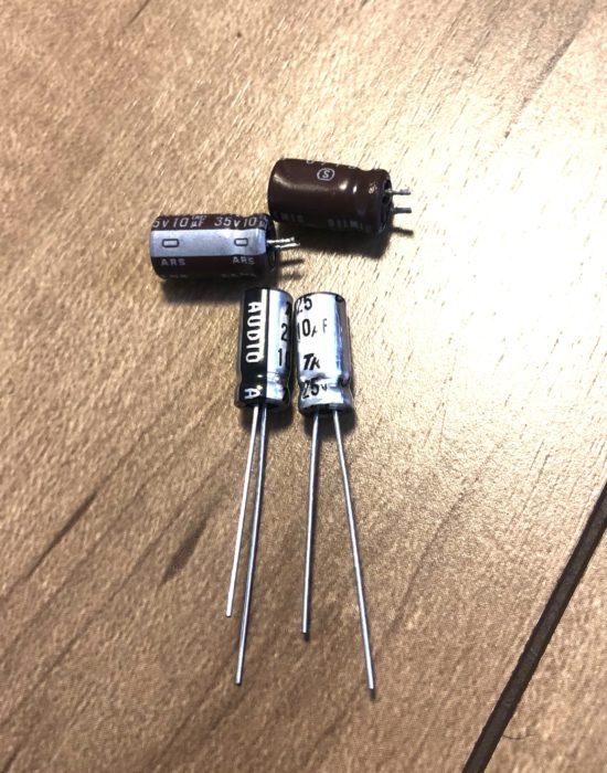 電解コンデンサの交換