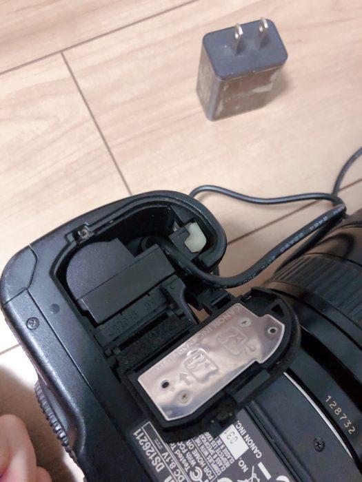 EOS 50D 常時電源ツール