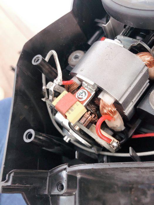 NC-A56の分解(モーターユニット)
