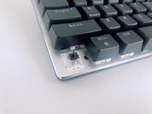 黒軸のキーボード
