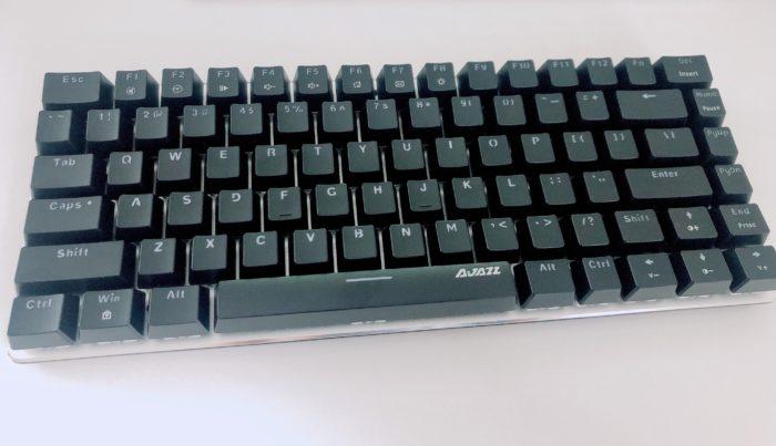 AliExpressで買った黒軸キーボード