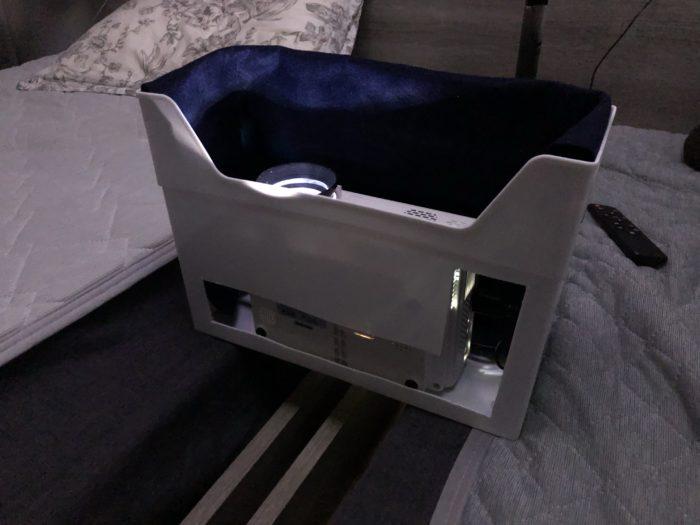 プロジェクター用の静音箱の制作